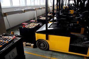 Um pouco sobre as Baterias para empilhadeiras
